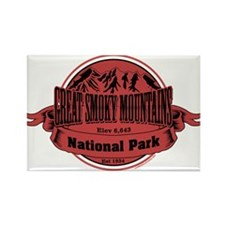 great smokey mountains 1 Rectangle Magnet (10 pack