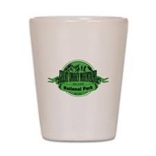 great smokey mountains 1 Shot Glass
