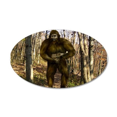 Bigfoot forest Wall Decal