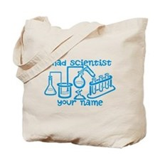 Personalized Mad Scientist Tote Bag