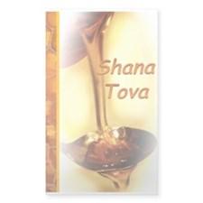 Shana Tova Honey Decal