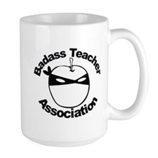 BadAss Teacher Ninja Apple Mug