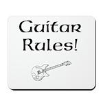 Guitar Rules Mousepad