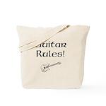 Guitar Rules Tote Bag
