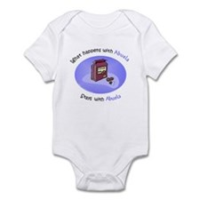 What Happens With Abuela...  Infant Bodysuit