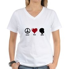 Peace, Love, Afros T-Shirt