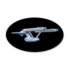 Original Series Enterprise Wall Decal