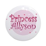 Allyson Ornament (Round)