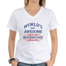 World's Most Awesome Registered Nurse Shirt