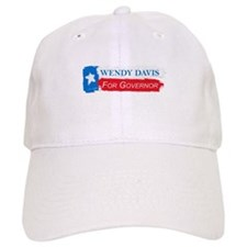 Wendy Davis Governor Flag Texas Baseball Cap