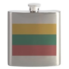 Flag of Lithuania Flask