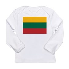 Flag of Lithuania Long Sleeve Infant T-Shirt