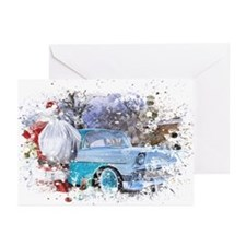 Grunge Christmas Greeting Cards 1(Pk of 10)