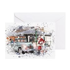 Grunge Christmas Greeting Cards 11(Pk of 10)