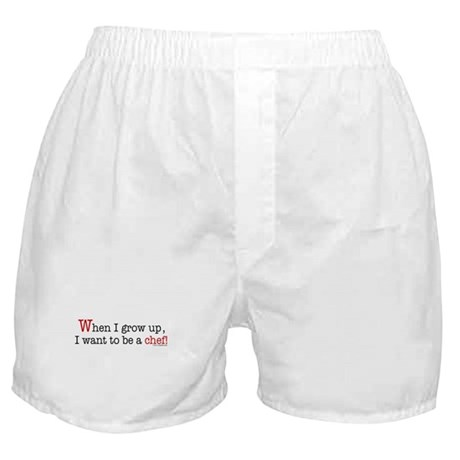 ... a chef Boxer Shorts