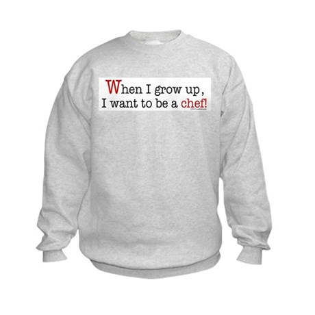 ... a chef Kids Sweatshirt
