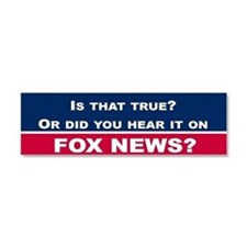 Fox News Car Magnet 10 x 3