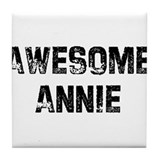 Awesome Annie Tile Coaster