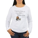 Durkon: Moose Urine Women's Long Sleeve T-Shirt