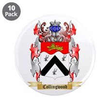 "Collingwood 3.5"" Button (10 pack)"