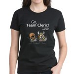 Durkon: Go Team Cleric! Women's Dark T-Shirt