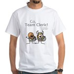 Durkon: Go Team Cleric! White T-Shirt