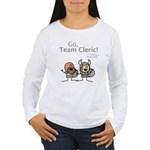Durkon: Go Team Cleric! Women's LS T-Shirt