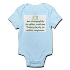 THE QUALITIES YOU POSSESS Infant Bodysuit