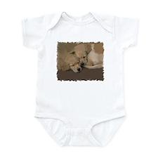 AWWW! GOLDEN PUPPIES Infant Bodysuit
