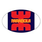Parabola Decal
