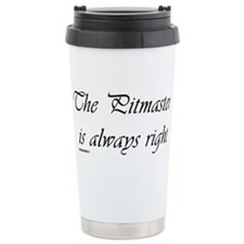 The Pitmaster is always right Travel Mug