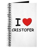 I love Cristofer Journal