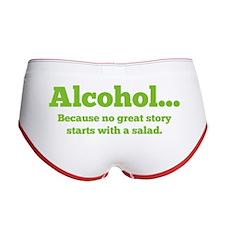 Alcohol Women's Boy Brief
