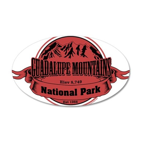 guadalupe mountains 1 Wall Decal