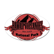 hawaii volcanoes 5 Wall Decal