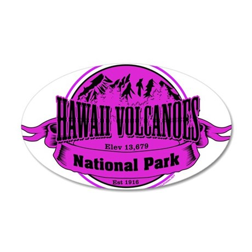 hawaii volcanoes 2 Wall Decal