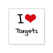 I love Targets Sticker
