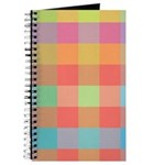 Checkered Pastel Gift Journal