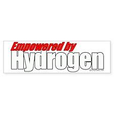 Empowered by Hydrogen Bumper Bumper Sticker