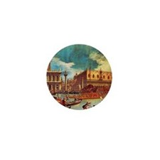 Canaletto: Bucentaurs Return Mini Button