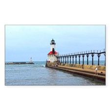Michigan City Lighthouse Decal