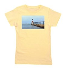 Michigan City Lighthouse Girl's Tee