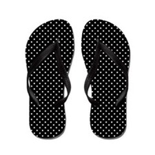 White and Black Polka Dot Pattern