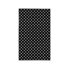 White and Black Polka Dot Pattern