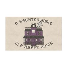 Haunted Home Happy Home Wall Decal