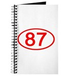Number 87 Oval Journal