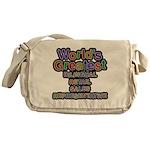 Number 87 Oval Messenger Bag