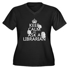 ask-a-librarian Plus Size T-Shirt