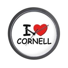 I love Cornell Wall Clock