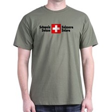 National Flag Olive Drab T-Shirt